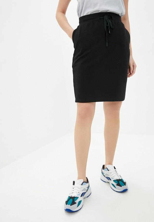 женская спортивные юбка 4f, черная