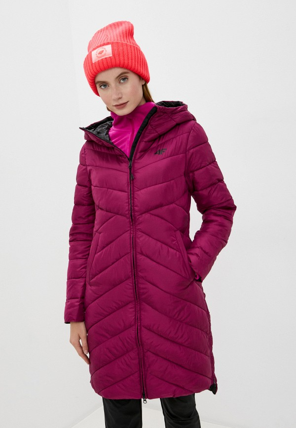 женская спортивные куртка 4f, бордовая