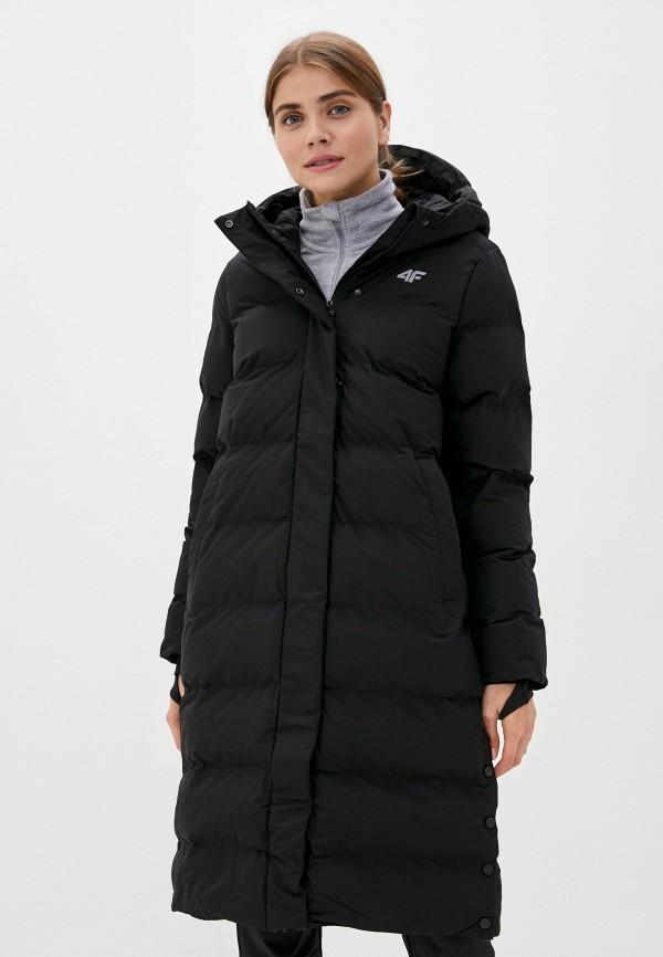 женская спортивные куртка 4f, черная