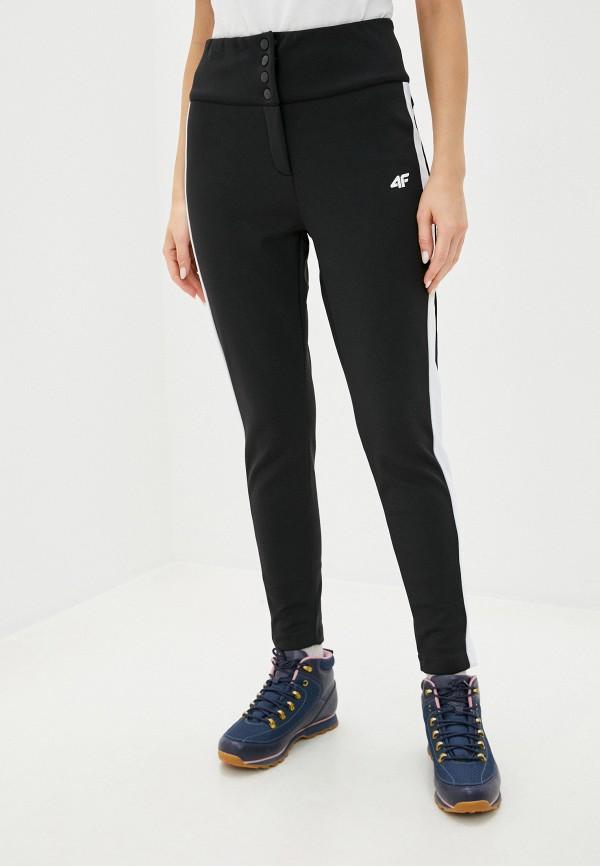 женские брюки 4f, черные