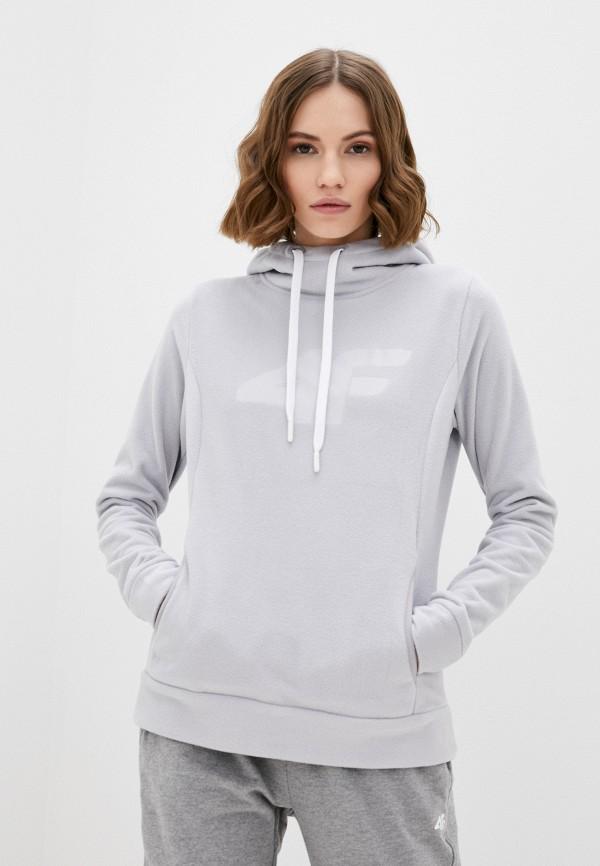 женский свитшот 4f, серый