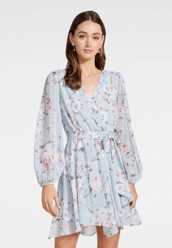 женское платье forever new, голубое
