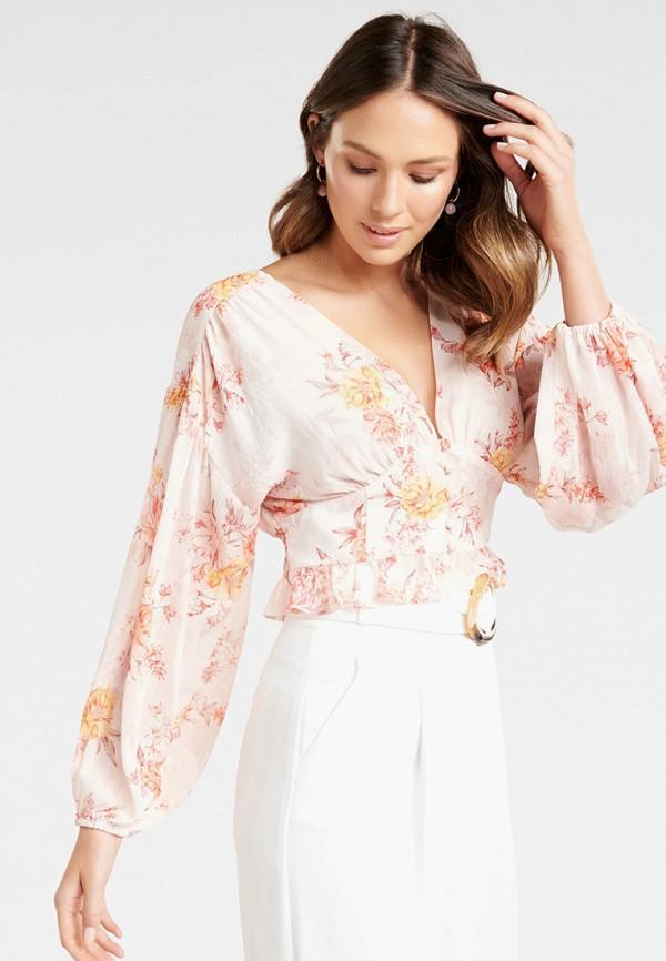 женская блузка forever new, розовая