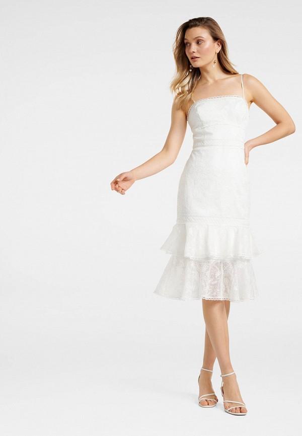 женское платье forever new, белое