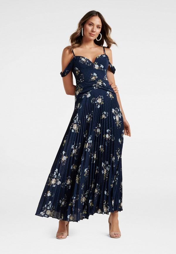 женское повседневные платье forever new, синее