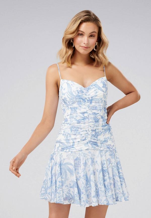 женское повседневные платье forever new, голубое