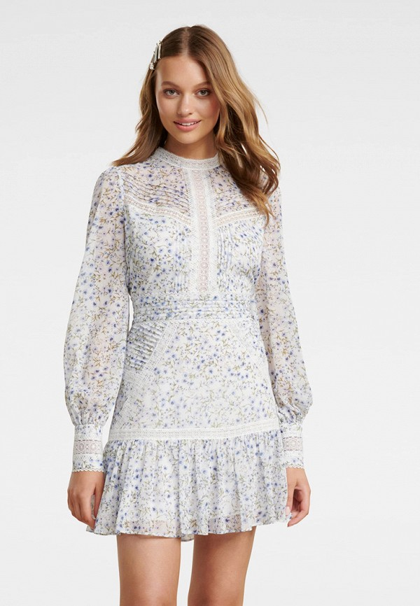 женское повседневные платье forever new, белое