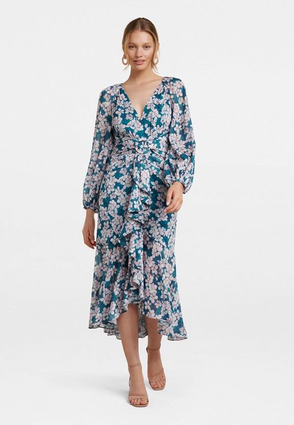 женское повседневные платье forever new, бирюзовое