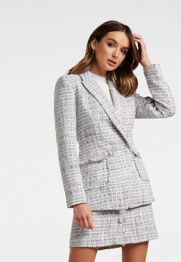 женский пиджак forever new, серый