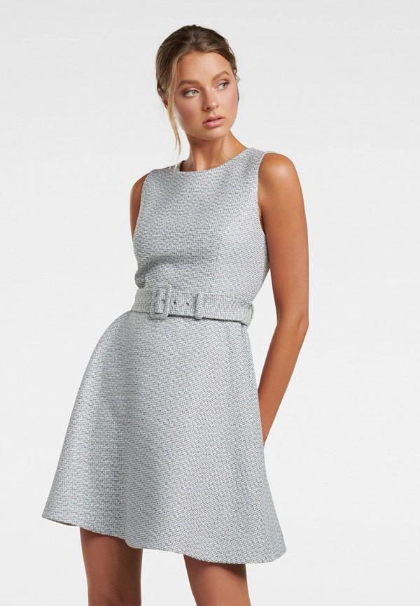 женское повседневные платье forever new, серое