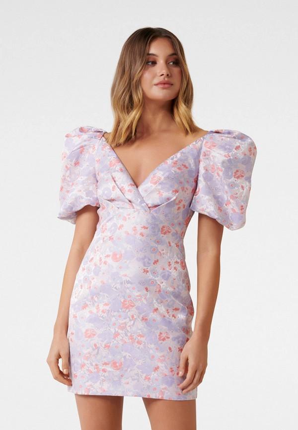 женское вечерние платье forever new, фиолетовое