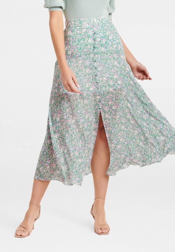 женская юбка forever new, зеленая