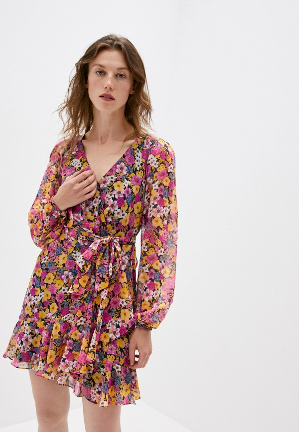 женское повседневные платье forever new, розовое