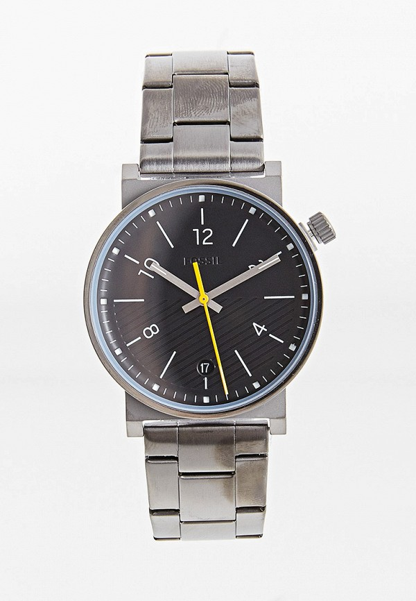 мужские часы fossil, серые
