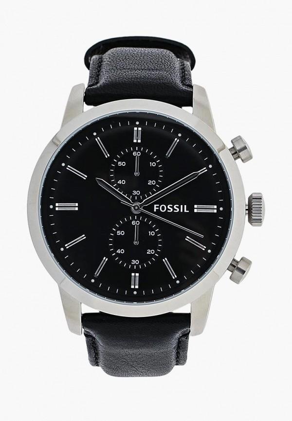 Купить Часы Fossil, FO619DMHCR91, черный, Весна-лето 2018