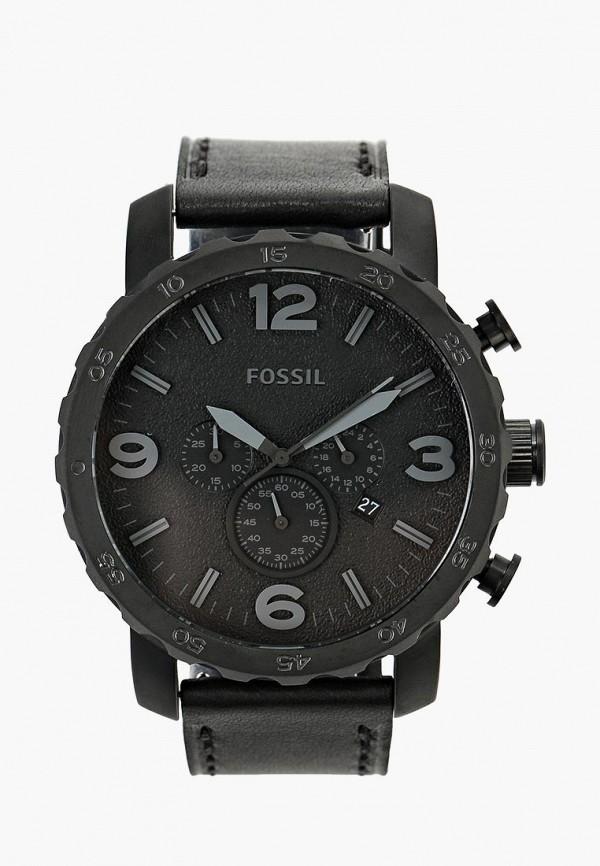 мужские часы fossil, черные