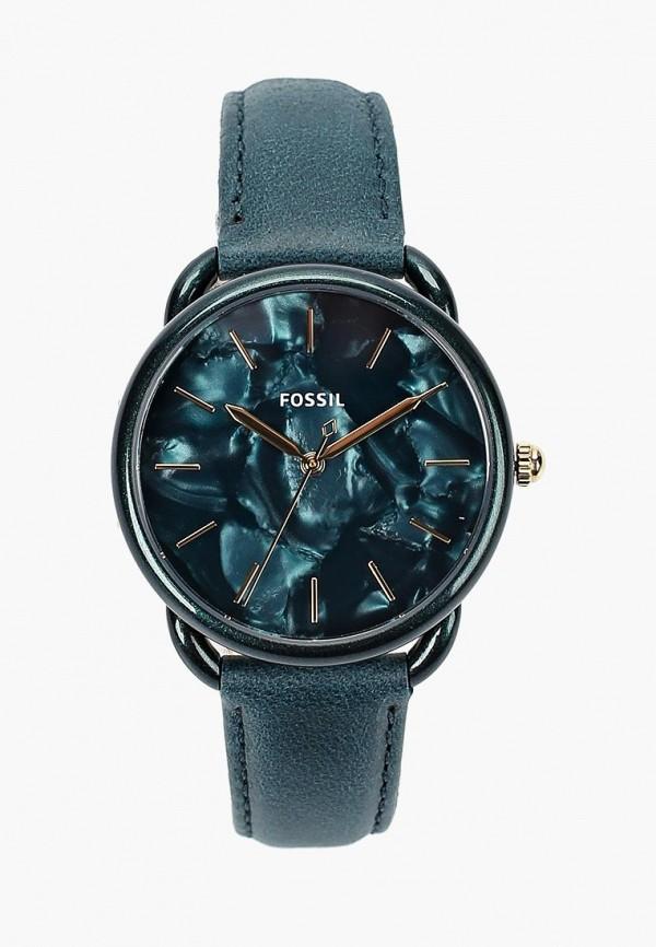 женские часы fossil, бирюзовые