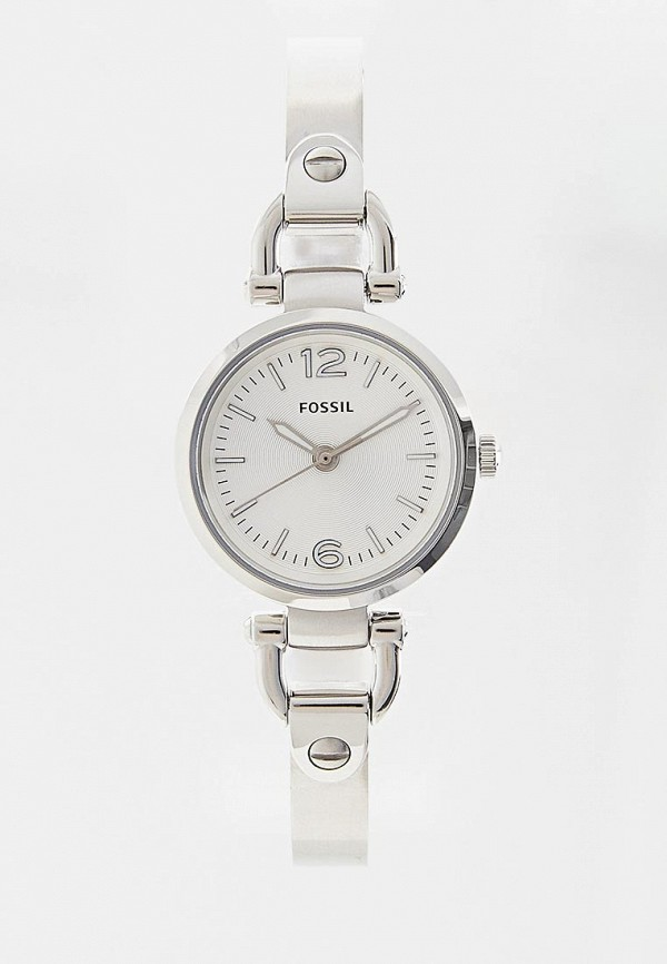 женские часы fossil, белые