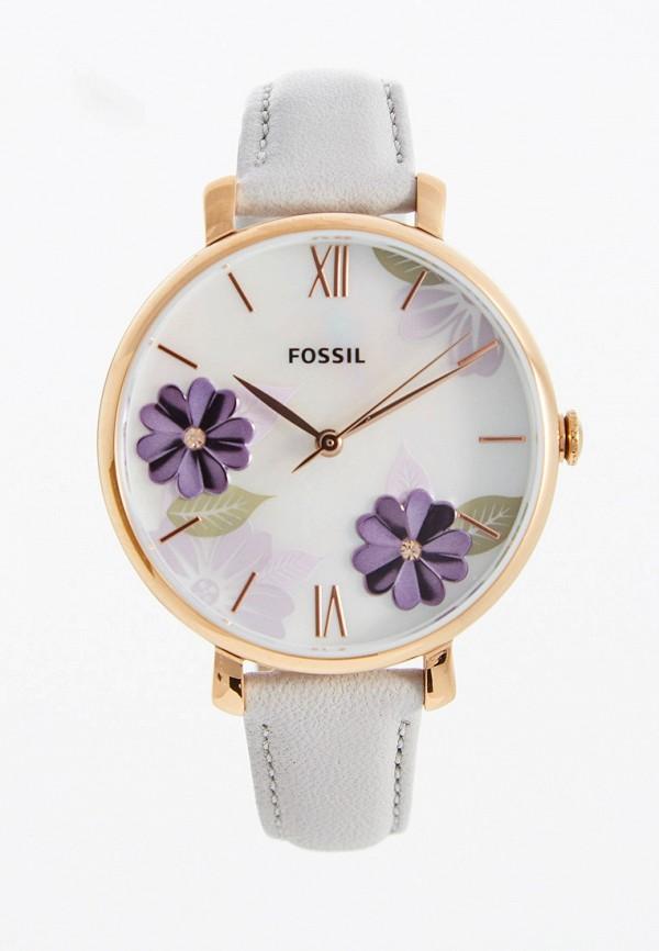 женские часы fossil, серые