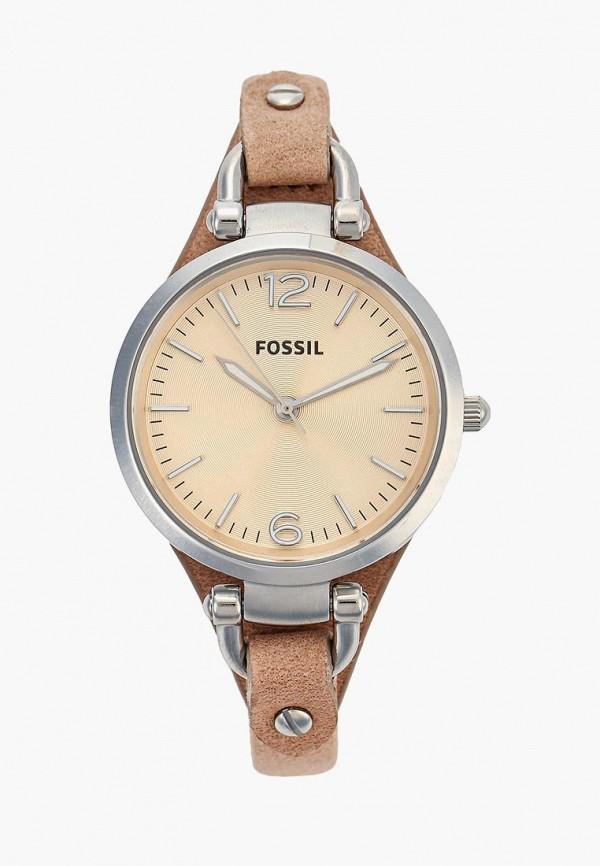 женские часы fossil, бежевые