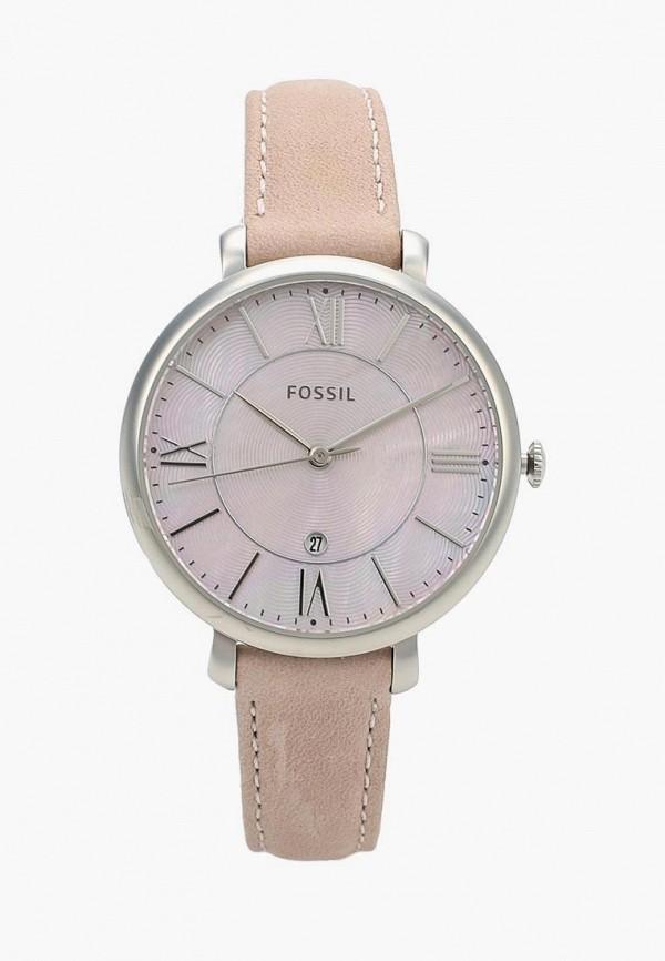 женские часы fossil, розовые