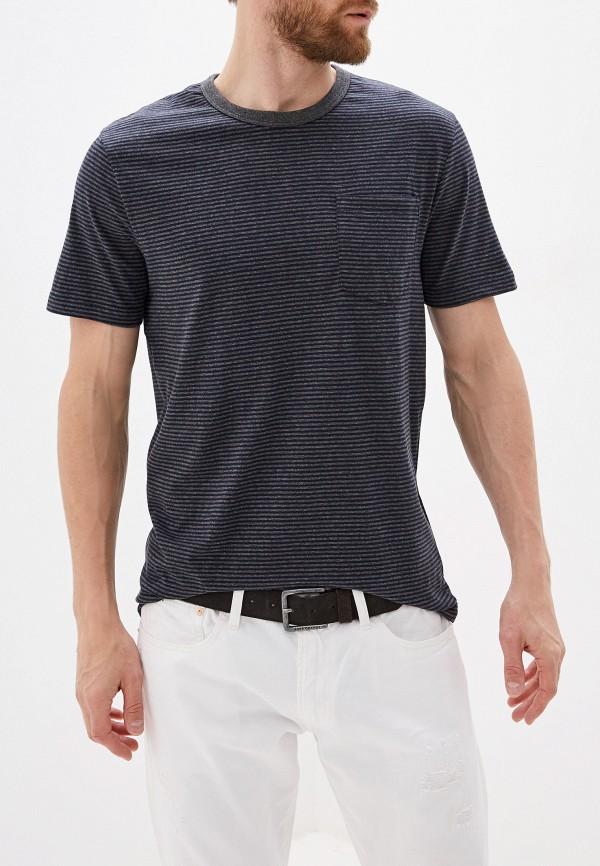 мужская футболка french connection, серая