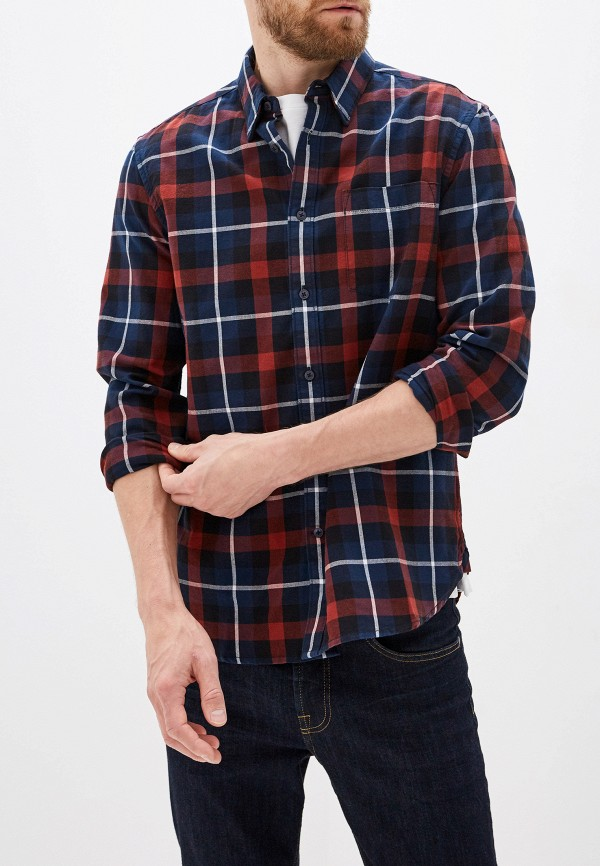 мужская рубашка с длинным рукавом french connection, разноцветная