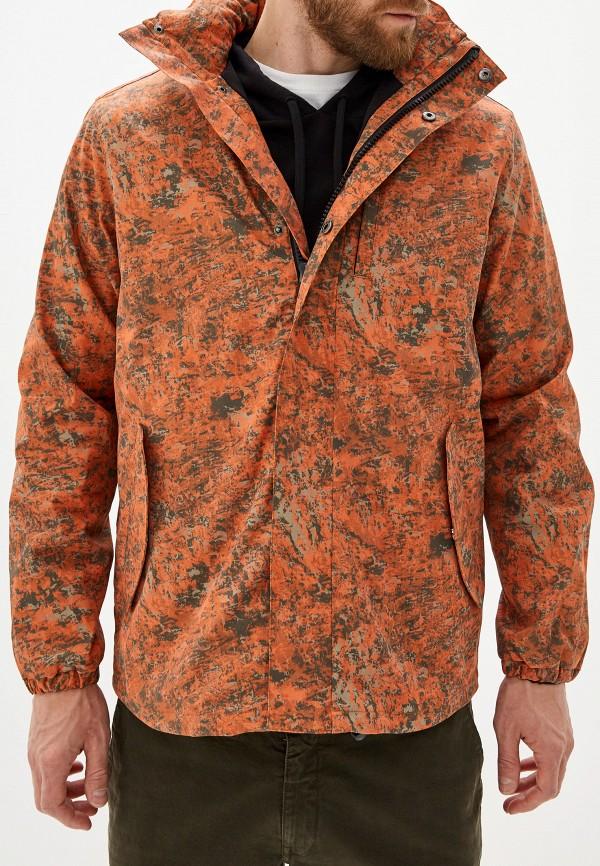 мужская куртка french connection, оранжевая