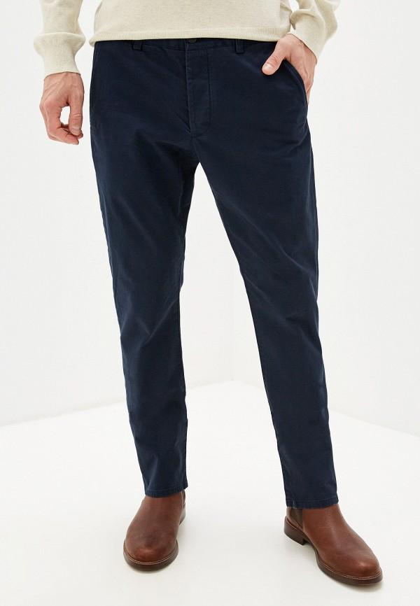 мужские прямые брюки french connection, синие