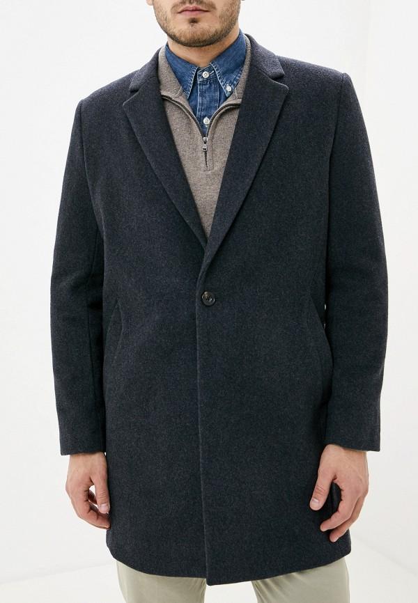 мужское пальто french connection, серое