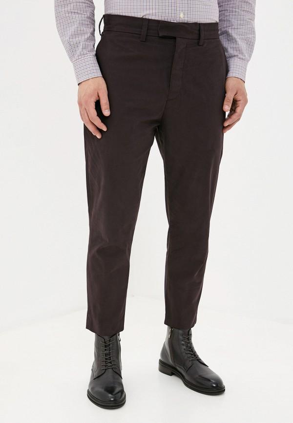 мужские повседневные брюки french connection, фиолетовые