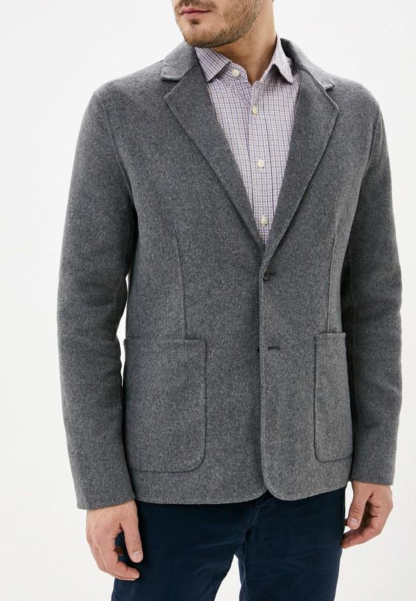мужской пиджак french connection, серый