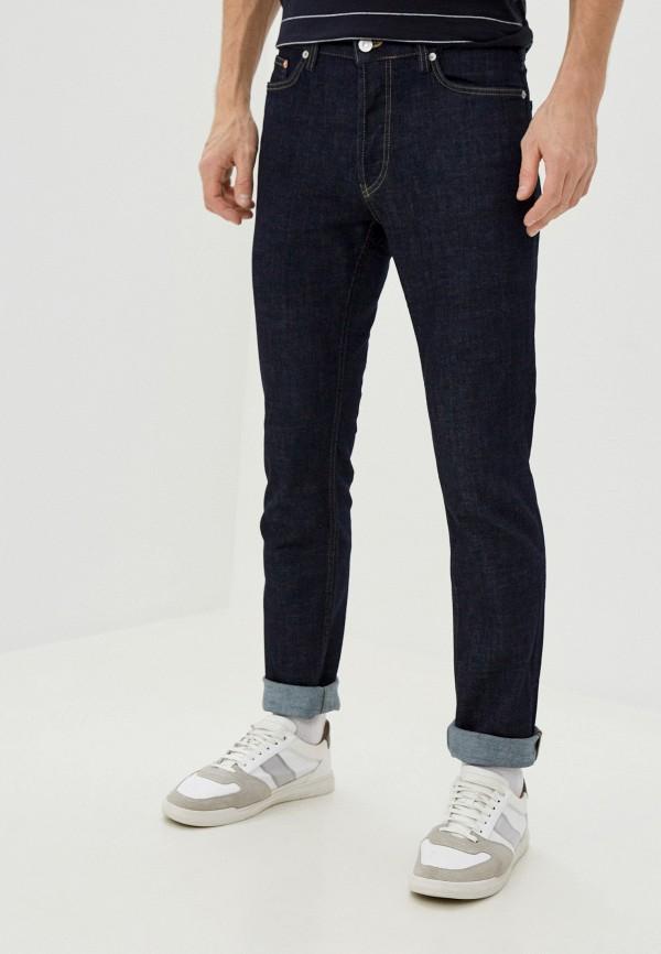 мужские зауженные джинсы french connection, синие