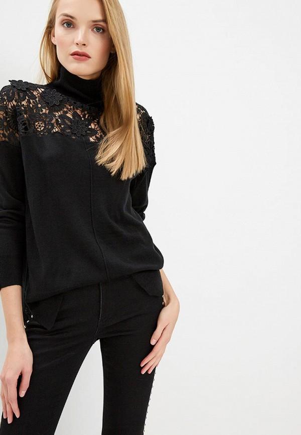 женский свитер french connection, черный