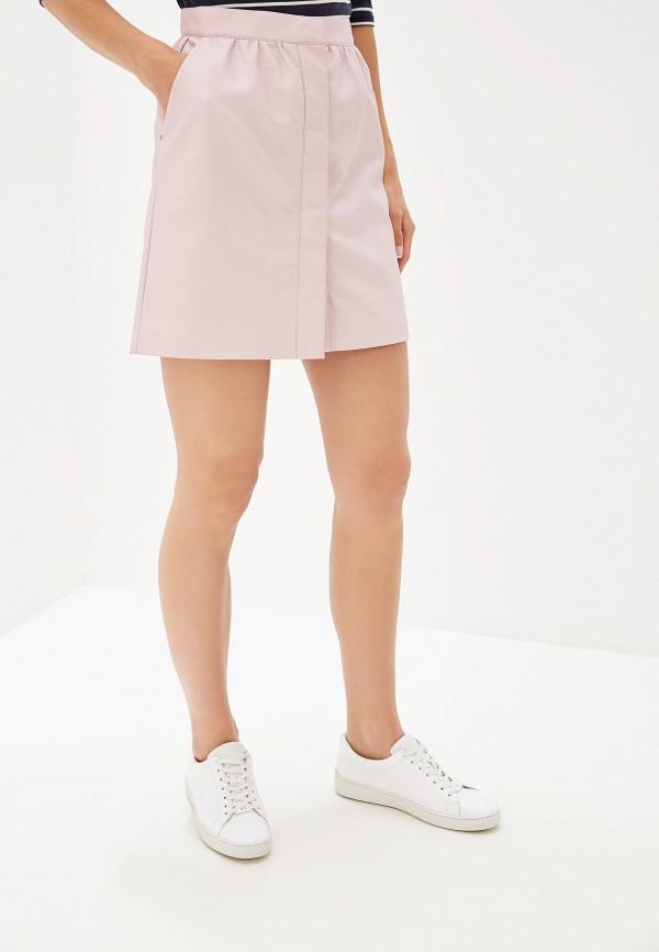 женская юбка french connection, розовая