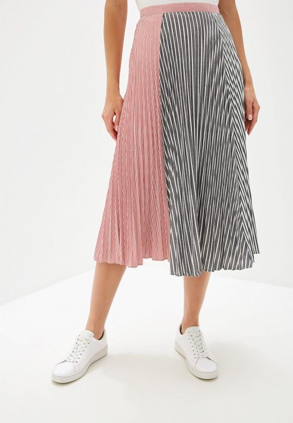 женская юбка french connection, разноцветная