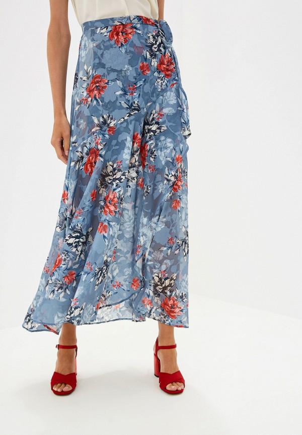 юбка юбка french connection, голубая