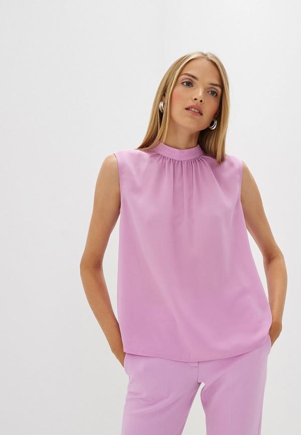 женская блузка french connection, розовая
