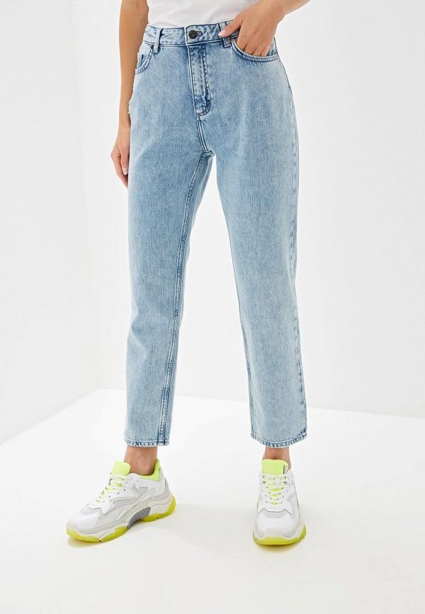 женские джинсы french connection, голубые