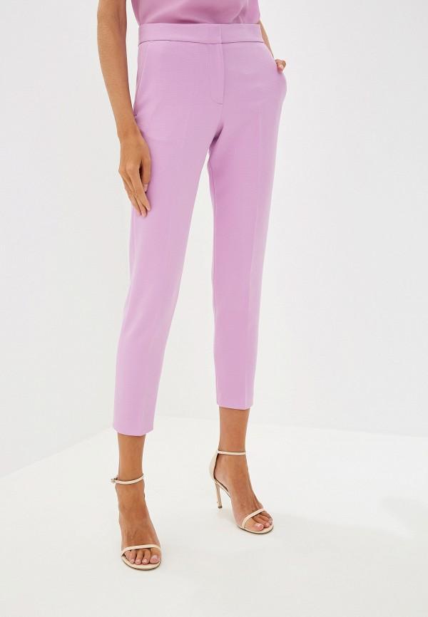 женские повседневные брюки french connection, розовые