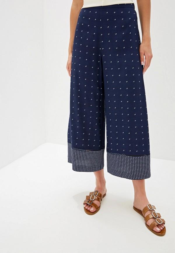 женские брюки french connection, синие