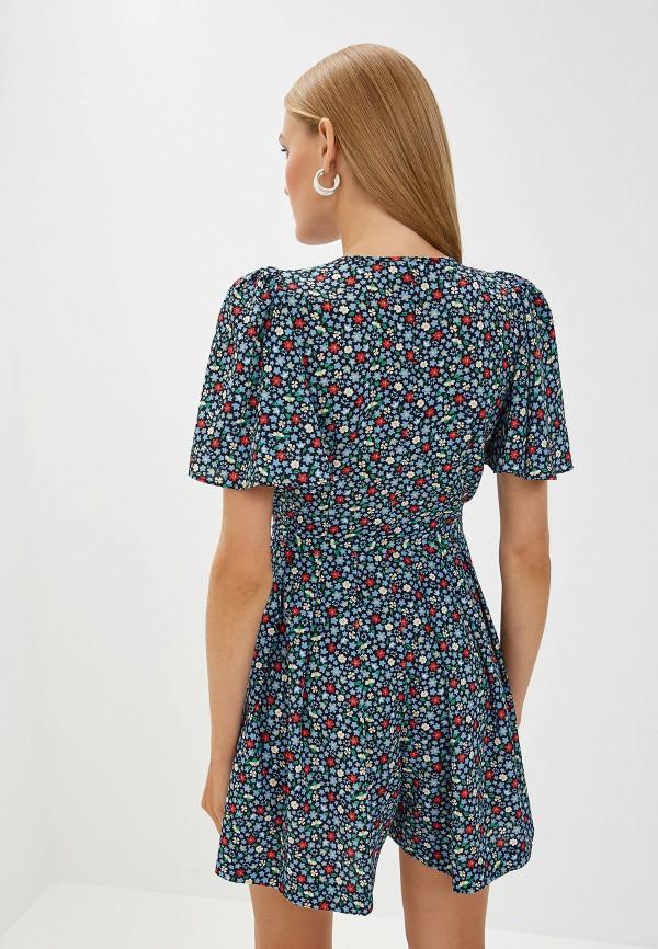 Фото 3 - женское повседневное платье French Connection разноцветного цвета