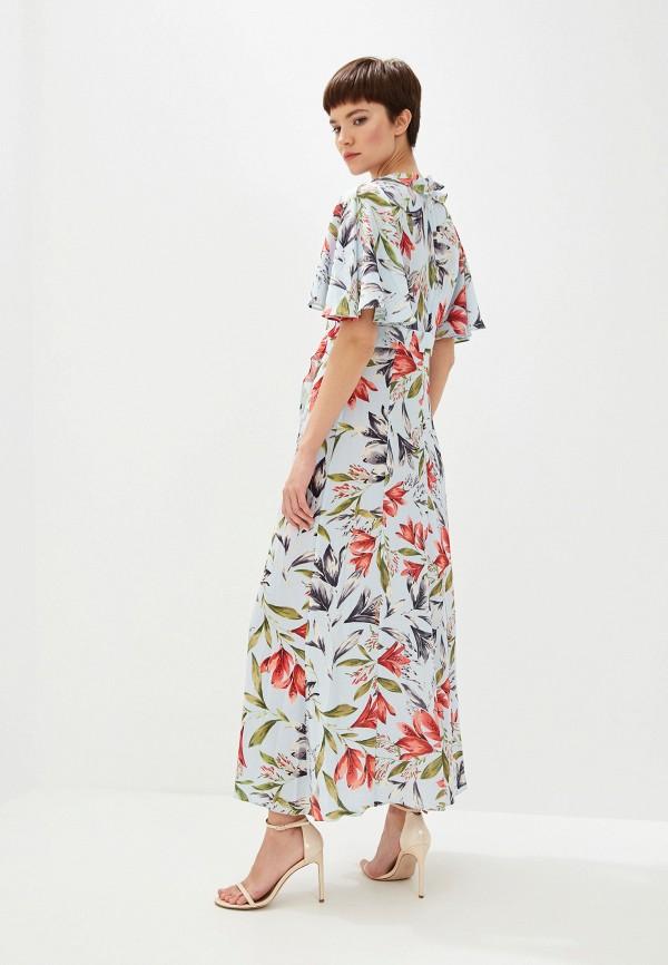 Фото 3 - женское повседневное платье French Connection голубого цвета