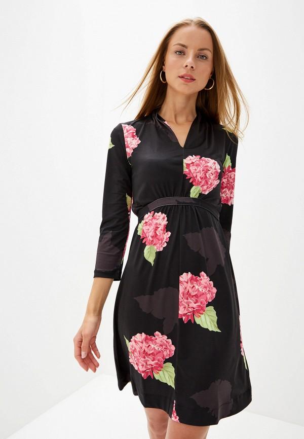женское платье french connection, черное