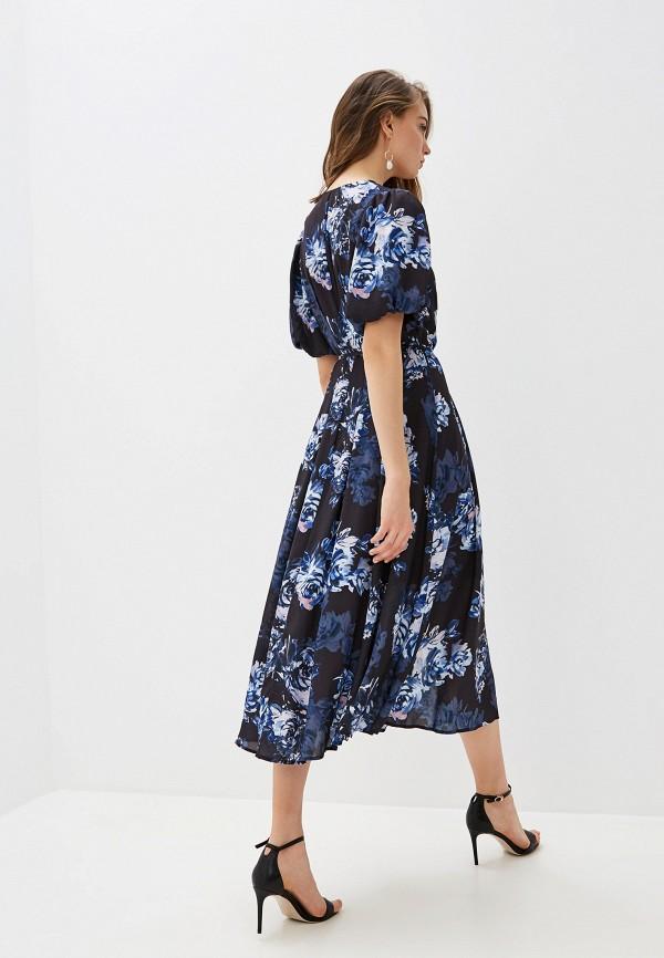 Фото 3 - женское повседневное платье French Connection синего цвета