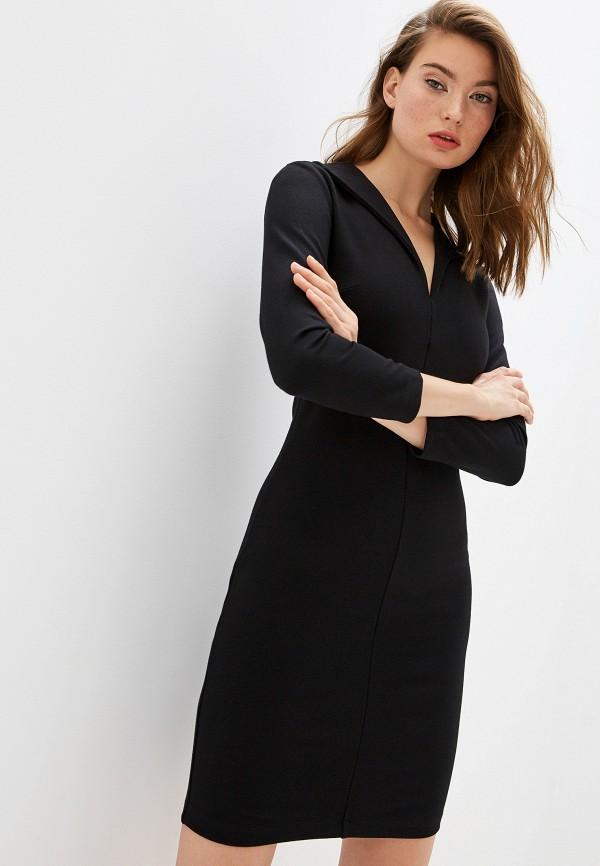 Фото - женское повседневное платье French Connection черного цвета