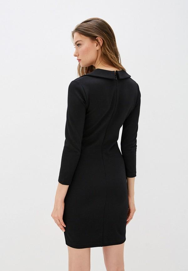 Фото 3 - женское повседневное платье French Connection черного цвета