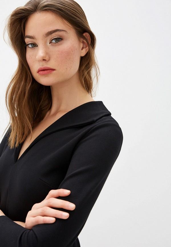 Фото 4 - женское повседневное платье French Connection черного цвета