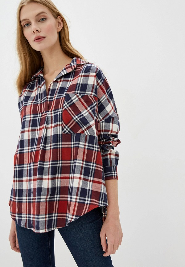 женская блузка с длинным рукавом french connection, разноцветная