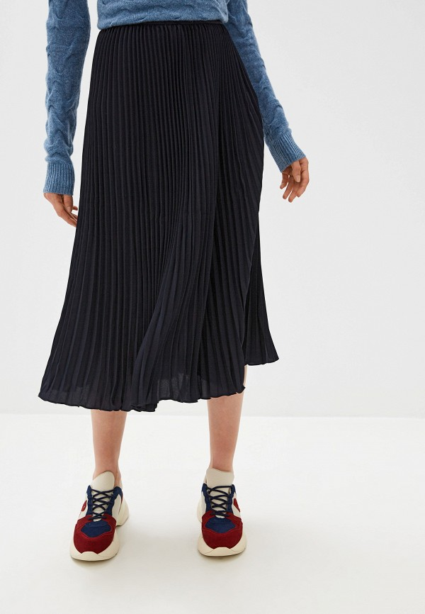 женская юбка french connection, синяя